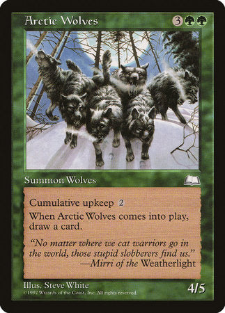 Arctic Wolves [Weatherlight] | Matrix Collectibles