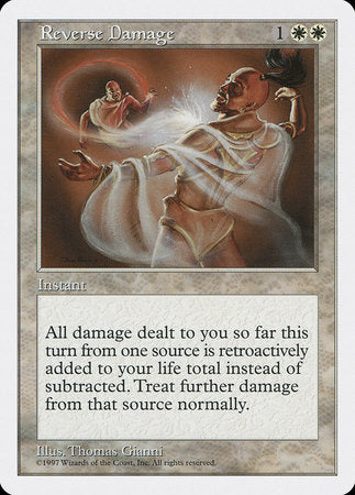 Reverse Damage [Fifth Edition] | Matrix Collectibles