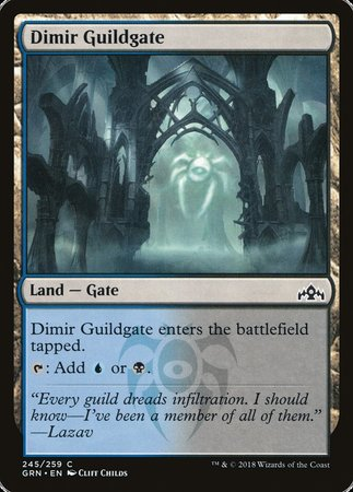 Dimir Guildgate (245) [Guilds of Ravnica] | Matrix Collectibles