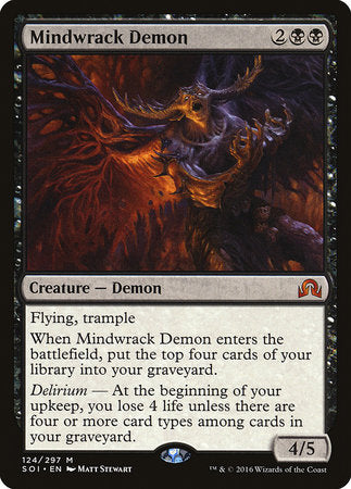 Mindwrack Demon [Shadows over Innistrad] | Matrix Collectibles