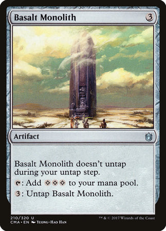 Basalt Monolith [Commander Anthology] | Matrix Collectibles