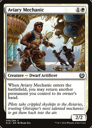 Aviary Mechanic [Kaladesh] | Matrix Collectibles