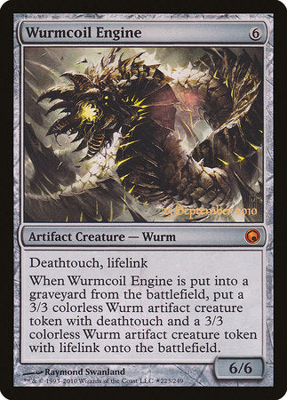 Wurmcoil Engine [Scars of Mirrodin Promos] | Matrix Collectibles