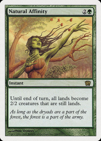 Natural Affinity [Eighth Edition] | Matrix Collectibles