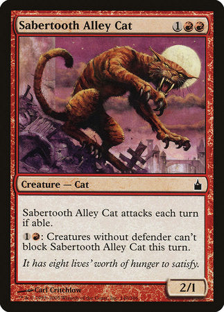 Sabertooth Alley Cat [Ravnica: City of Guilds] | Matrix Collectibles