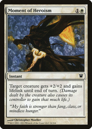 Moment of Heroism [Innistrad] | Matrix Collectibles