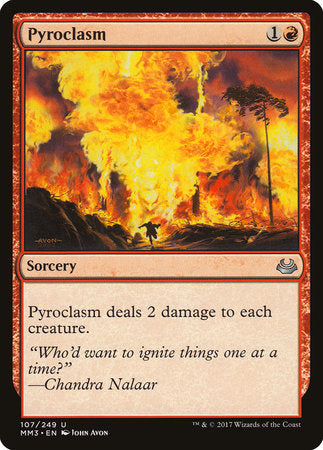 Pyroclasm [Modern Masters 2017] | Matrix Collectibles