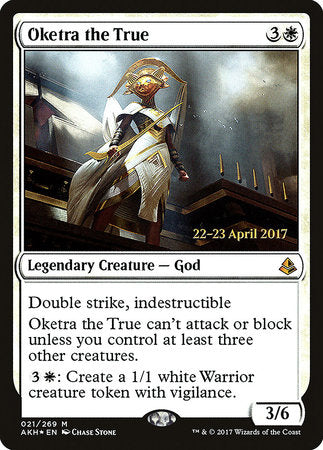 Oketra the True [Amonkhet Promos] | Matrix Collectibles