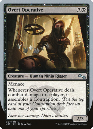 Overt Operative [Unstable] | Matrix Collectibles
