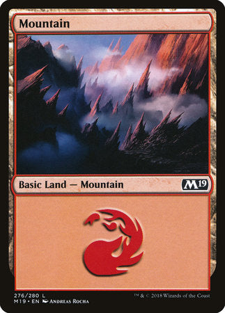 Mountain (276) [Core Set 2019] | Matrix Collectibles