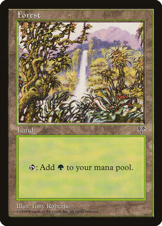 Forest (Waterfall) [Mirage] | Matrix Collectibles
