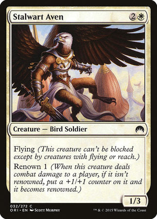 Stalwart Aven [Magic Origins] | Matrix Collectibles
