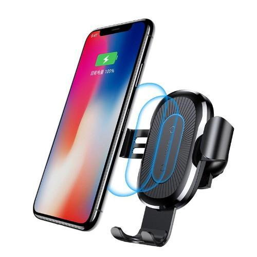 2 in 1 Wireless Charger + Car Holder For All Smartphone
