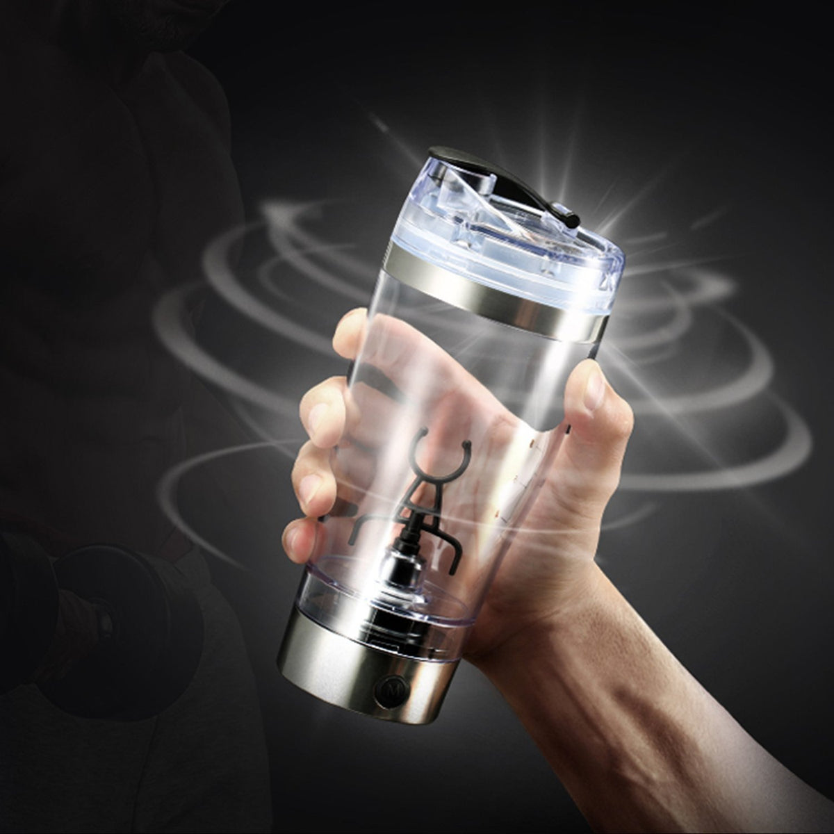 Protein Shaker Bottle 16oz - Gadget Best Shop