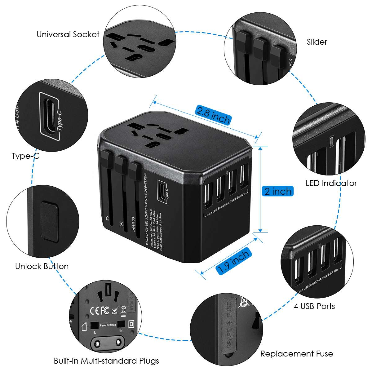Perfect Travel Adapter