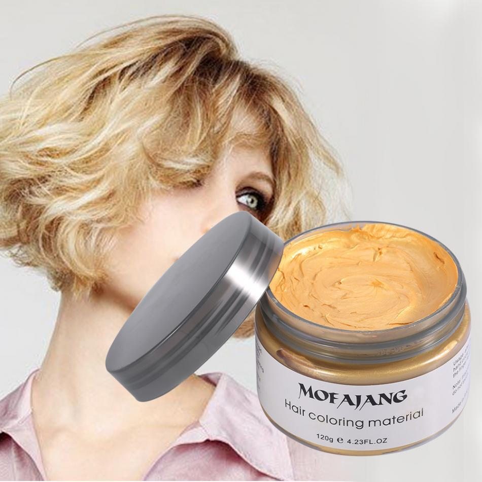 INSTANT WASHABLE HAIR COLOR! Temporary Modeling 7 Colors - Gadget Best Shop