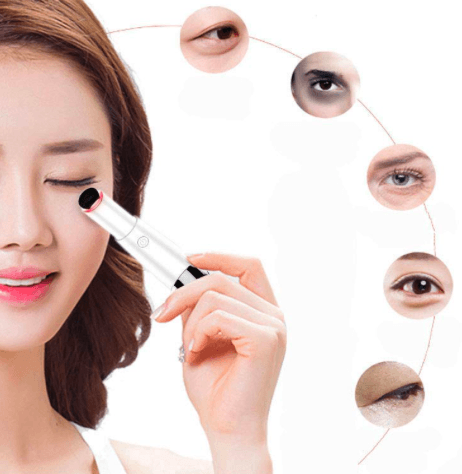 Hot Under-Eye Massager Pen