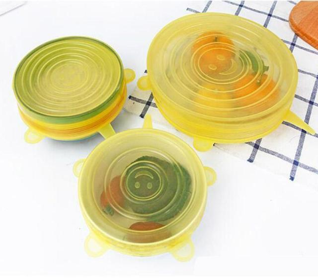 LidSeals Silicone Set/6Pcs - Gadget Best Shop