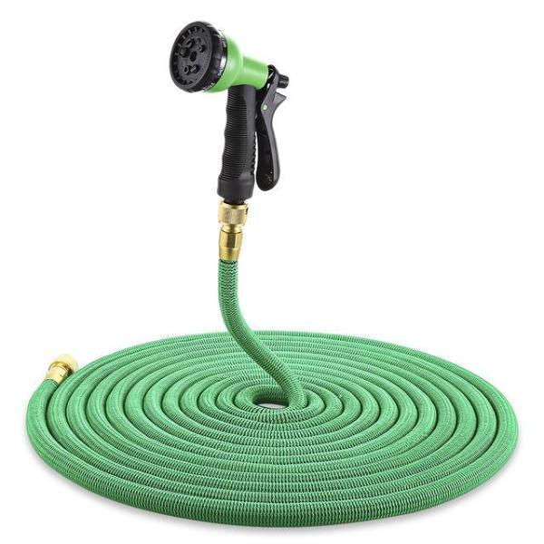 Expandable Garden Hose + Free Spray Head with 8 Modes
