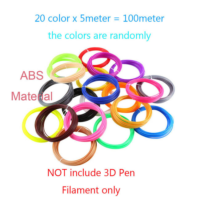 Smart 3D Pen With Free Filament Creative