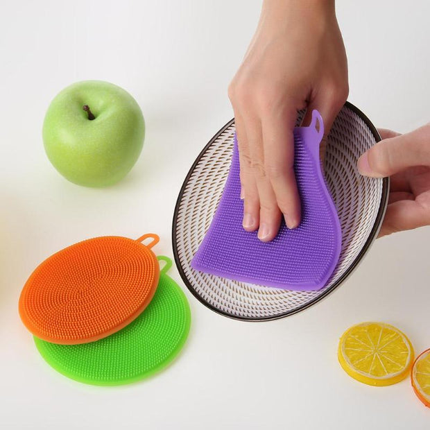 Silicone Dish Towel SET(3 Pcs)