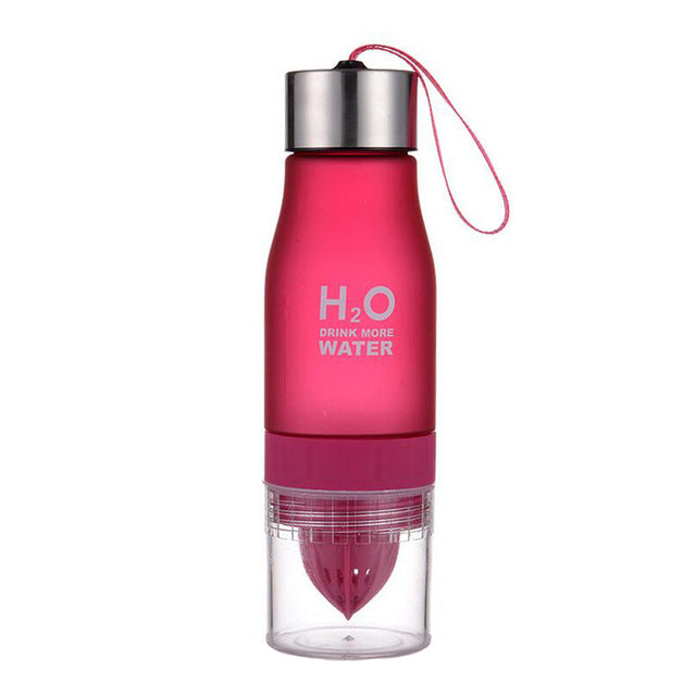 H2O Water Bottle Fruit Infuser