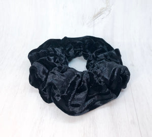 Black Velvet Scrunchie