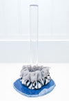 Natural Agate Scrunchie Holder (Blue Large)