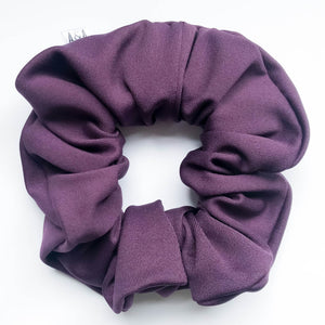 Eggplant Hot Yoga Scrunchie