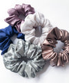Mocha Satin Scrunchie