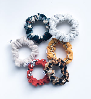 MINI Leopard Scrunchie