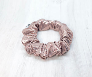 MINI Rose Gold Scrunchie