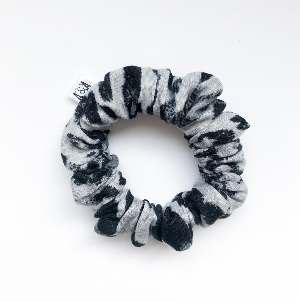 MINI Snow Leopard Scrunchie