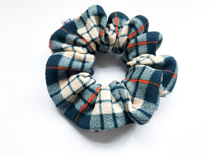 PNW Plaid Scrunchie