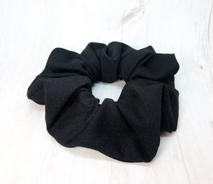 HOT YOGA Scrunchie, Black