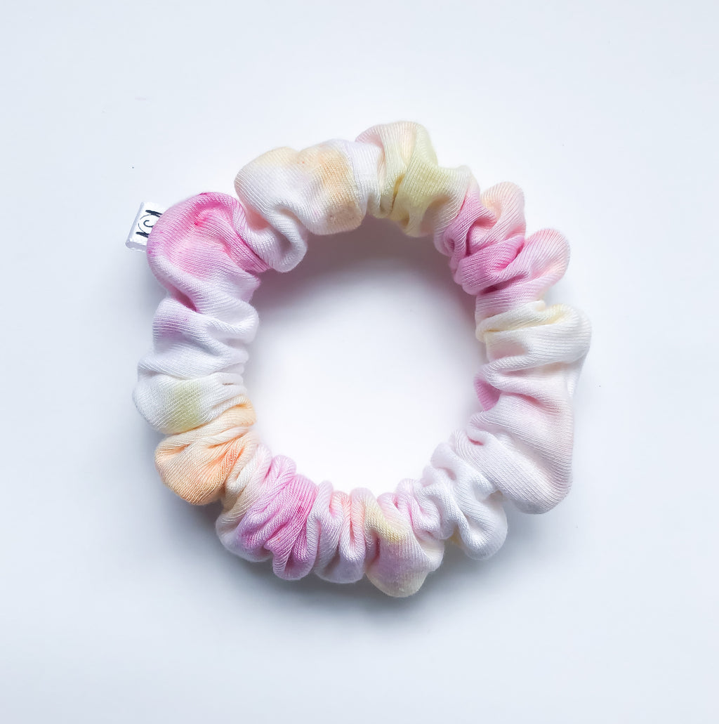 MINI Sunrise Tie Dye Scrunchie