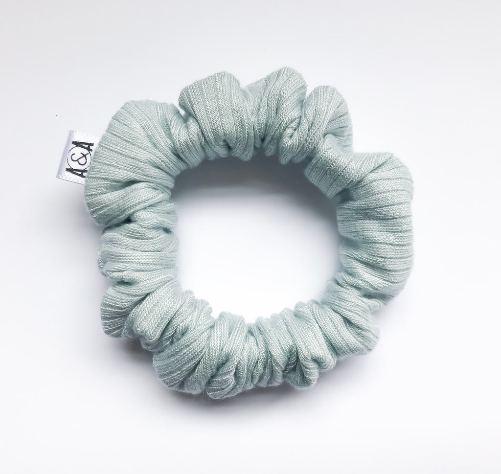 MINI Mint Scrunchie