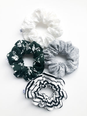 Forest Floral Scrunchie