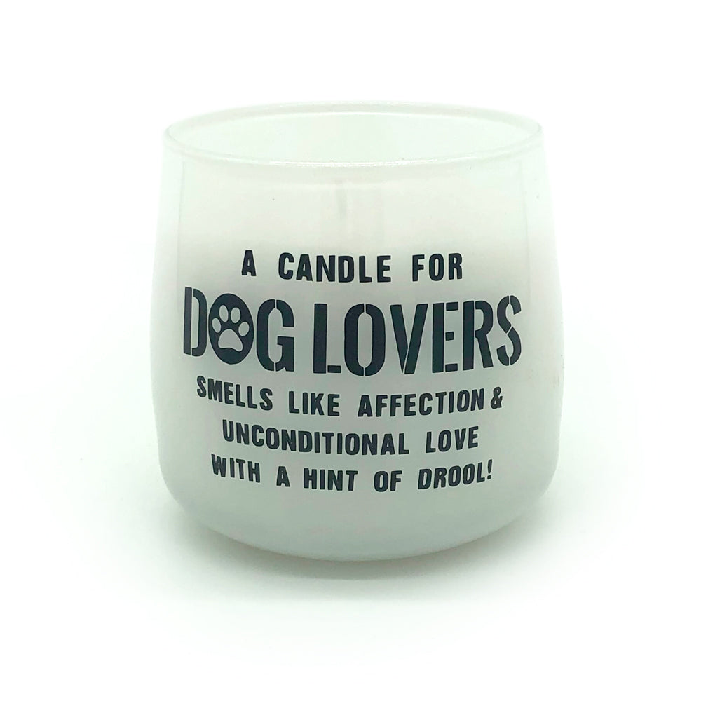 Dog Lovers scented candle