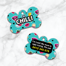 Load image into Gallery viewer, Pet ID Tags - Cartoon Pop