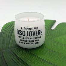 Load image into Gallery viewer, Dog Lovers scented candle