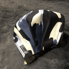 "Load image into Gallery viewer, ADULT ""Blue Camo"" Washable Face Mask"