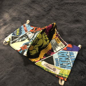 "CHILD ""Marvel Hero"" Washable Face Mask"