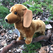 "Load image into Gallery viewer, Plush Pet - Dachshund - ""Benson"""