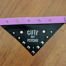 Load image into Gallery viewer, Cute but Psycho Bandana Collar
