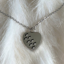 Load image into Gallery viewer, Pet Memorial Footsteps Urn Pendant Necklace