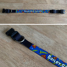 Load image into Gallery viewer, Personalised Dog Collar - SuperDog