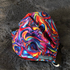 "ADULT ""Psychedelic Swirl"" Washable Face Mask"