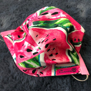 "ADULT ""One-in-a-Melon"" Washable Face Mask"