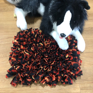 Snuffle Mat Red Flame - Medium